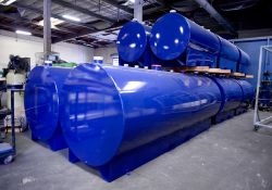 Cylindrical Steel Tanks